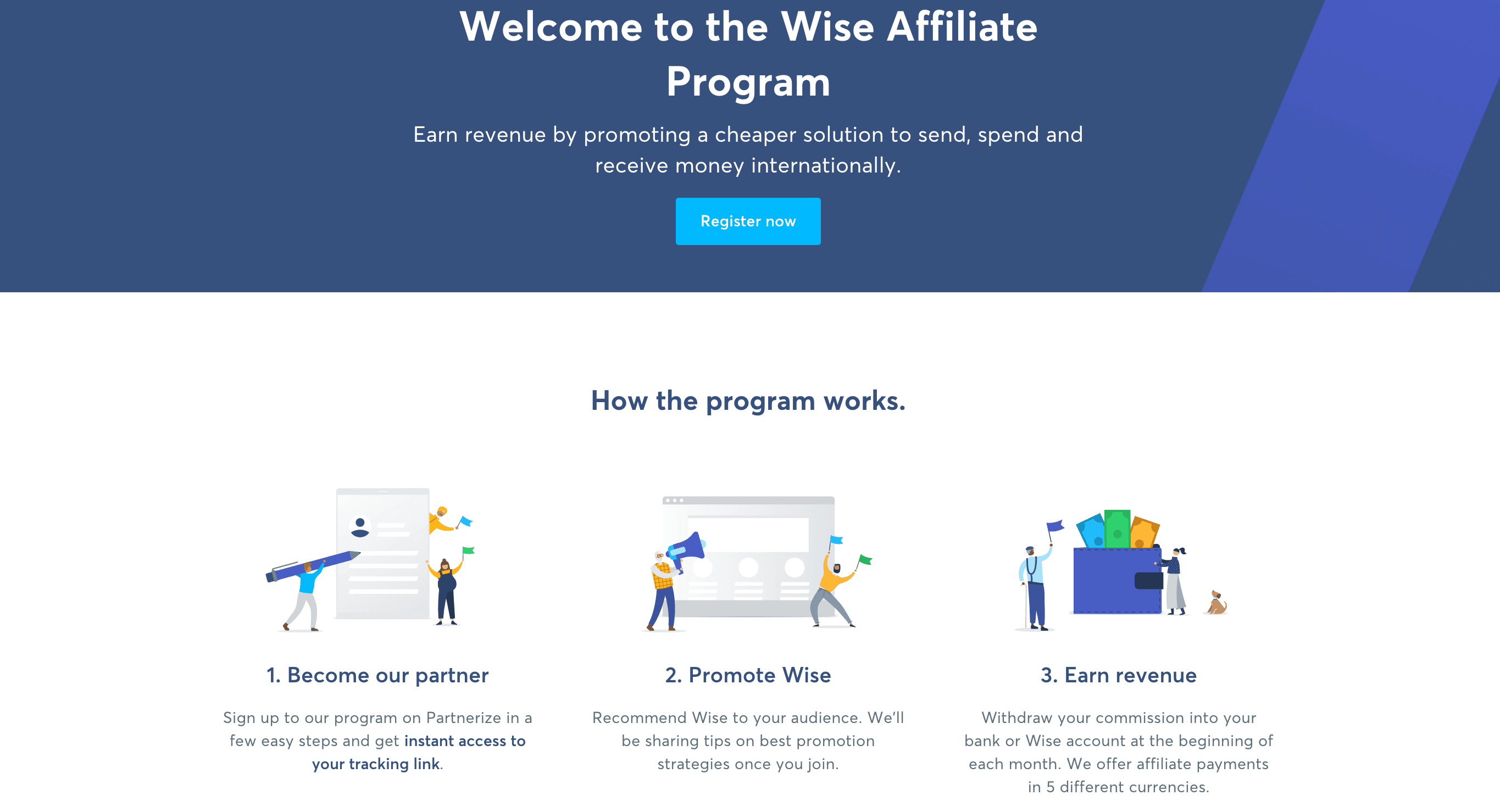 wise affiliate
