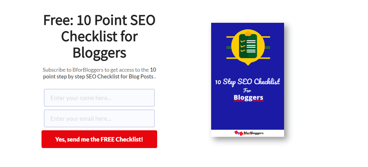 BforBloggers increases CTR on Call to Actions reducing friction