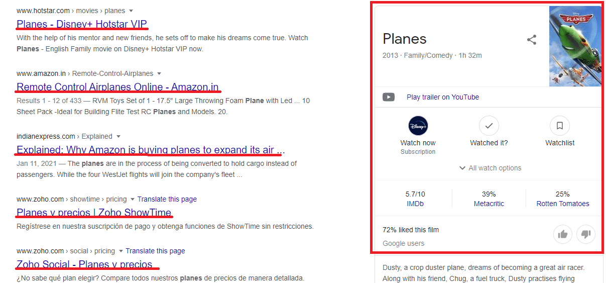 Search results for planes